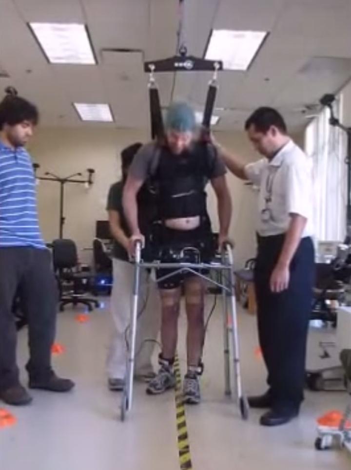Прорыв Американских врачей – спинальник пошел