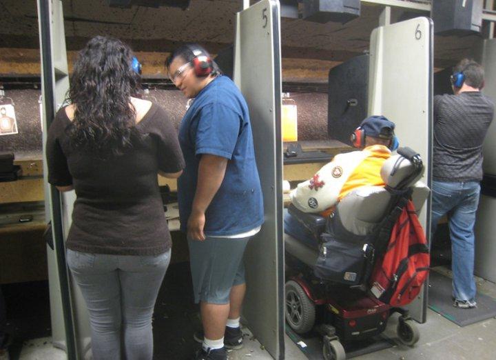 инвалиды в Америке фото