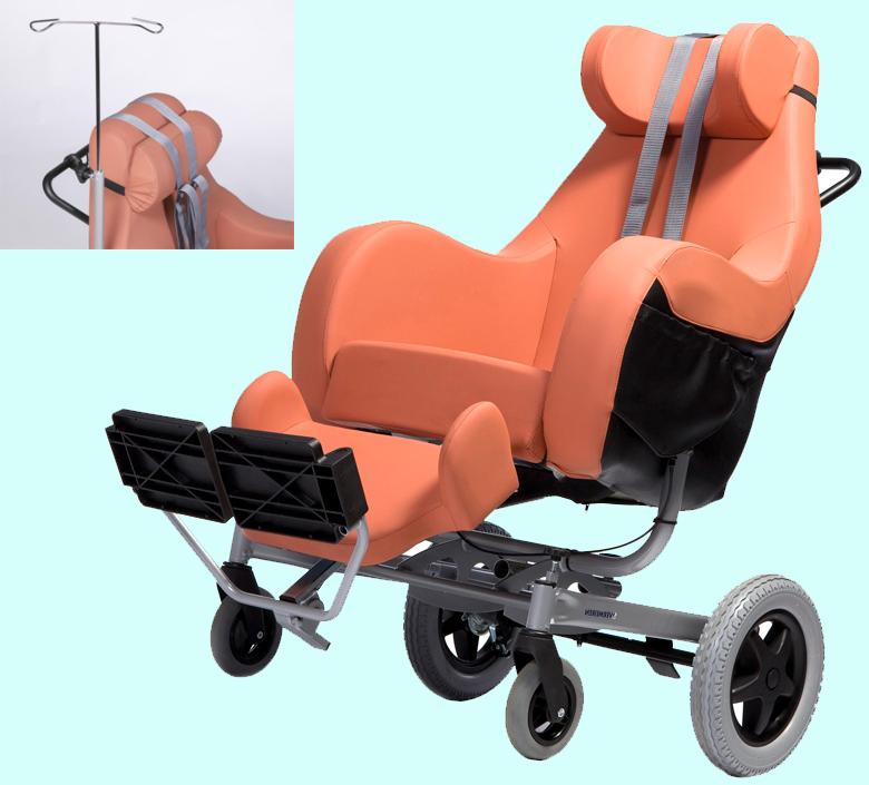 Инвалидное кресло Vermeiren  Coraille, повышенный комфорт, цена, отзывы